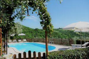 Vacanze in Umbria - agriturismo con piscina