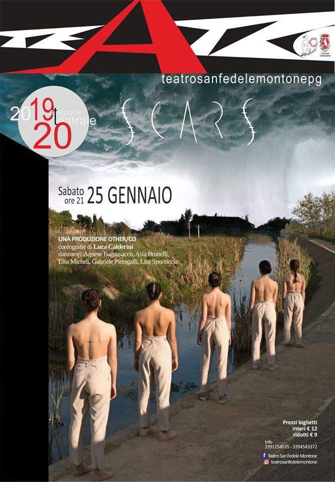 Stagione di Prosa 2019/20 promossa al Teatro San Fedele di Montone (Pg).