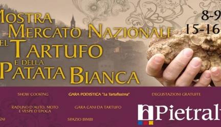 A Pietralunga torna ad ottobre la Mostra Mercato del tartufo bianco e della patata bianca