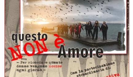 """Venerdì 25 novembre a Pistrino lo spettacolo """"Questo non è amore"""""""