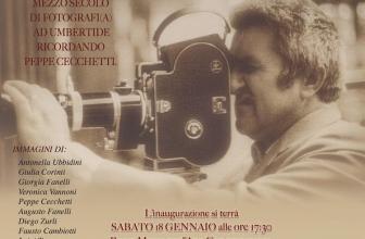 """Alla Rocca apre i battenti la mostra """"Sali d'argento e megapixel – Mezzo Secolo di Fotografi(a) ad Umbertide"""":"""