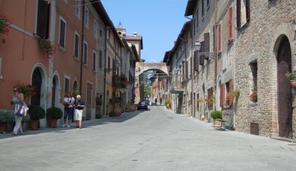 Citerna: inaugurata la conclusione dei lavori di restauro del Torrione Circolare, simbolo del borgo