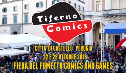 Tiferno Comics Fiera del fumetto Comics and Games
