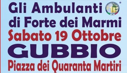 Gli Ambulanti Forte dei Marmi a Gubbio